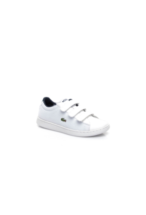 Lacoste Carnaby Evo 117 2 Çocuk Beyaz Sneakers Ayakkabı 733Spc1001.001