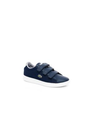 Lacoste Carnaby Evo 117 2 Çocuk Lacivert Sneakers Ayakkabı 733Spc1001.003