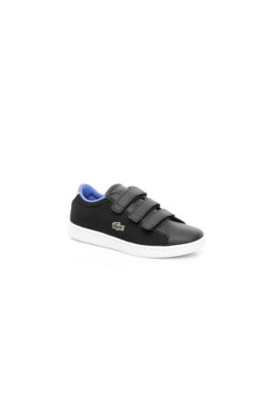 Lacoste Carnaby Evo 117 2 Çocuk Siyah Sneakers Ayakkabı 733Spc1001.024