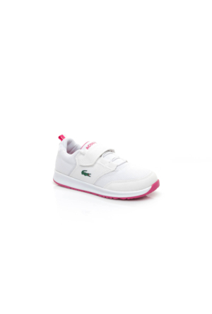 Lacoste L.Ight 117 1 Çocuk Beyaz Sneakers Ayakkabı 733Spc1004.B53