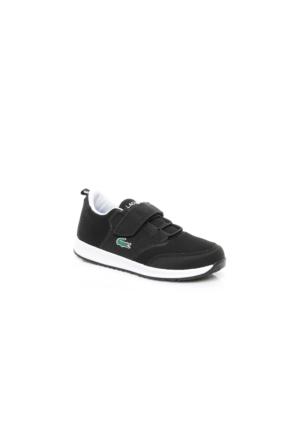Lacoste L.Ight 117 1 Çocuk Siyah Sneakers Ayakkabı 733Spc1004.231