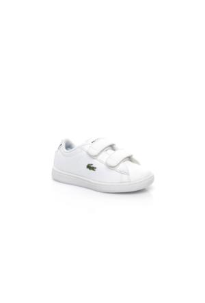 Lacoste Carnaby Evo Bl 1 Çocuk Beyaz Sneakers Ayakkabı 733Spı1003.042