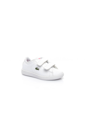 Lacoste Carnaby Evo Bl 1 Çocuk Beyaz Sneakers Ayakkabı 733Spı1003.B53