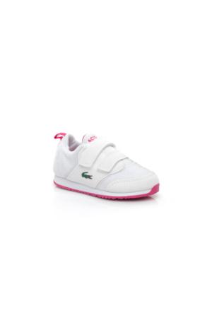 Lacoste L.Ight 117 1 Çocuk Beyaz Sneakers Ayakkabı 733Spı1004.B53
