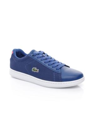 Lacoste Carnaby Evo 117 1 Kadın Mavi Sneakers Ayakkabı 733Spw1010.125