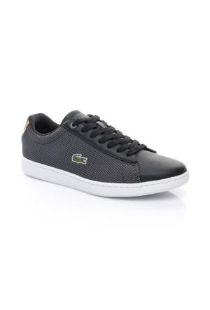 Lacoste Carnaby Evo 117 1 Kadın Siyah Sneakers Ayakkabı 733Spw1010.024