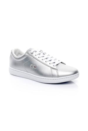 Lacoste Carnaby Evo 117 3 Kadın Gri Sneakers Ayakkabı 733Spw1012.334