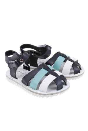 Soobe 2015 Yaz Ayakkabı Sandalet Lacivert (21-30 Numara)