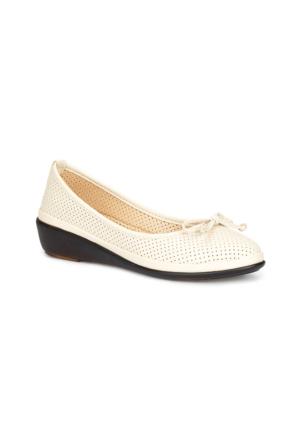 Polaris 71.156549.Z Bej Kadın Ayakkabı