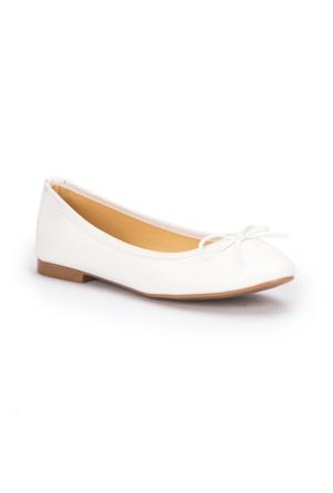 Polaris 71.308119.Z Beyaz Kadın Babet