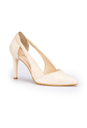 Polaris 71.309803.Z Bej Kadın Ayakkabı