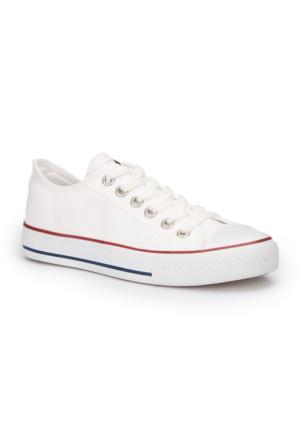 Polaris 71.351646.Z Beyaz Kadın Ayakkabı