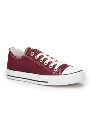 Polaris 71.351646.Z Bordo Kadın Ayakkabı