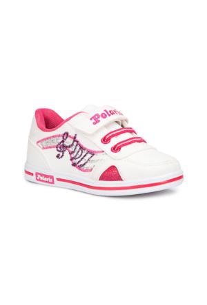 Polaris 71.507095.P Beyaz Kız Çocuk Sneaker Ayakkabı