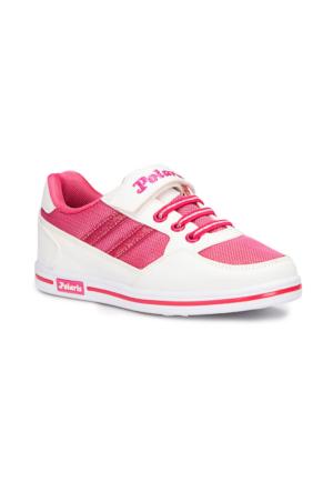Polaris 71.507157.F Beyaz Kız Çocuk Sneaker Ayakkabı