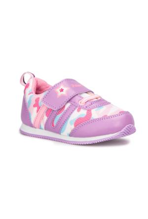 Polaris 71.508016.B Mor Kız Çocuk Sneaker Ayakkabı