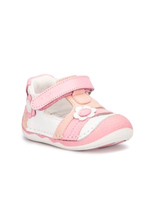 Polaris 71.509014.I Beyaz Kız Çocuk Deri Ayakkabı 516
