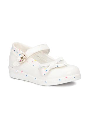 Polaris 71.509076.P Beyaz Kız Çocuk Ayakkabı