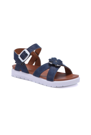 Polaris 71.509112.F Lacivert Kız Çocuk Sandalet