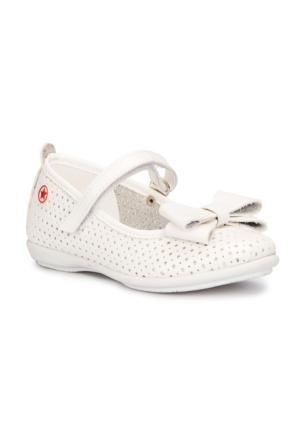 Polaris 71.509158.P Beyaz Kız Çocuk Babet