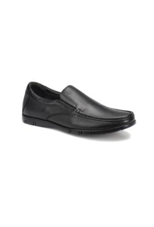 Flogart D-04169-Y M 1494 Siyah Erkek Deri Klasik Ayakkabı