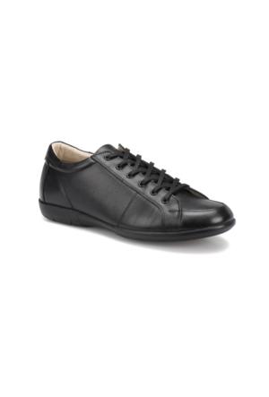 Flogart Gzl-2 M 1494 Siyah Erkek Deri Modern Ayakkabı