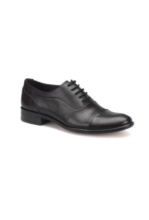 Garamond 509 M 1455 Siyah Erkek Deri Klasik Ayakkabı