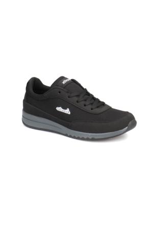 Kinetix Fiore Siyah Beyaz Kadın Sneaker Ayakkabı