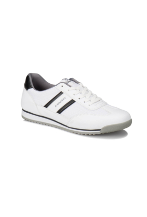Kinetix Seter M Beyaz Siyah Erkek Sneaker Ayakkabı
