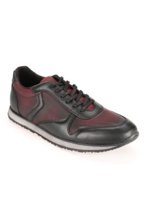 Mytrax Dms-53 M 1597 Siyah Bordo Erkek Spor Ayakkabı