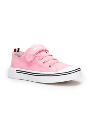 U.S. Polo Assn. Penelope Pembe Kız Çocuk Sneaker Ayakkabı