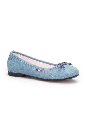 U.S. Polo Assn. Sister Mavi Kadın Babet
