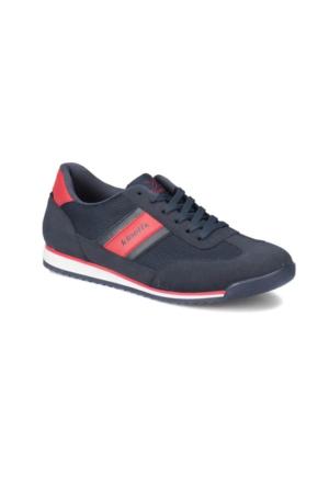 Kinetix Seter M Lacivert Kırmızı Erkek Sneaker Ayakkabı