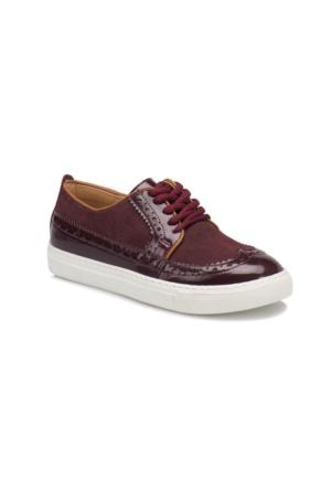 Seventeen Ally-1 Bordo Kız Çocuk Ayakkabı