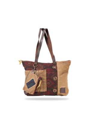 Old Cotton Cargo Cairo Bag Omuz Çantası