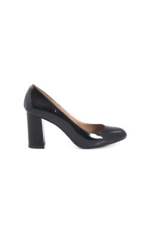 Kemal Tanca Kadın Platform Topuk Ayakkabı Siyah