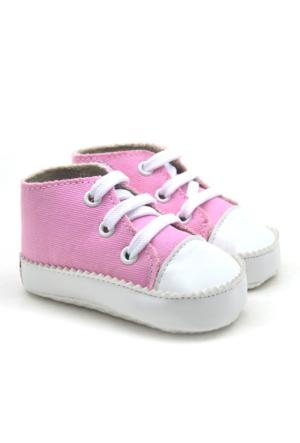 İlk Adım Yumuşak Tabanlı Açık Pembe Bebek Ayakkabı Patik
