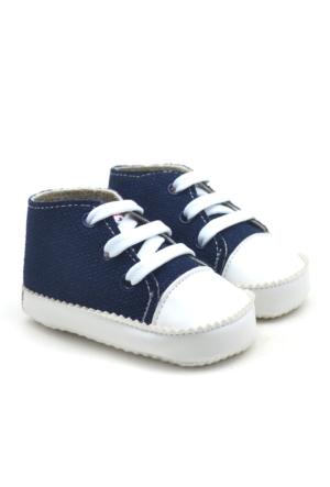 İlk Adım Yumuşak Tabanlı Lacivert Bebek Ayakkabı Patik