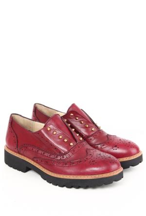 Gön Deri Kadın Ayakkabı 25131