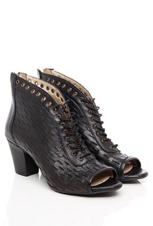 Gön Deri Kadın Ayakkabı 13156