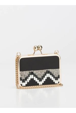 Roman Siyah Gold Rengi Çanta K1681201001