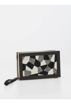 Roman Mozaik Desenli Çanta K1681202001