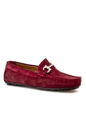 Cabani Makosen Günlük Erkek Ayakkabı Bordo Süet