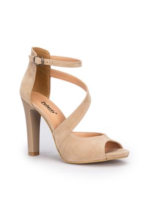 Polaris 71.309903.Z Bej Kadın Ayakkabı