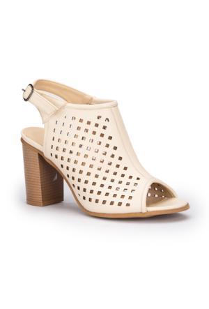 Polaris 71.309907.Z Bej Kadın Ayakkabı