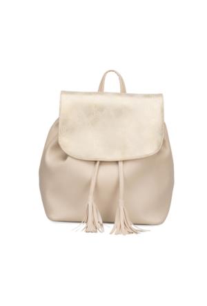 Butigo Ert17Ss020 Bej Kadın Backpack Çanta