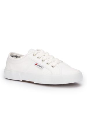 Polaris 71.353791.Z Beyaz Kadın Ayakkabı