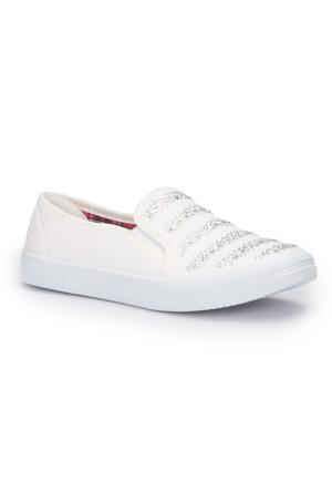 Polaris 71.354916.Z Beyaz Kadın Ayakkabı