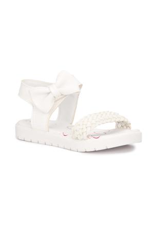 Polaris 71.509110.P Beyaz Kız Çocuk Sandalet