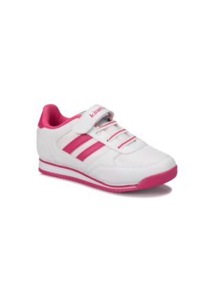 Kinetix Tramor Beyaz Fuşya Kız Çocuk Sneaker Ayakkabı
